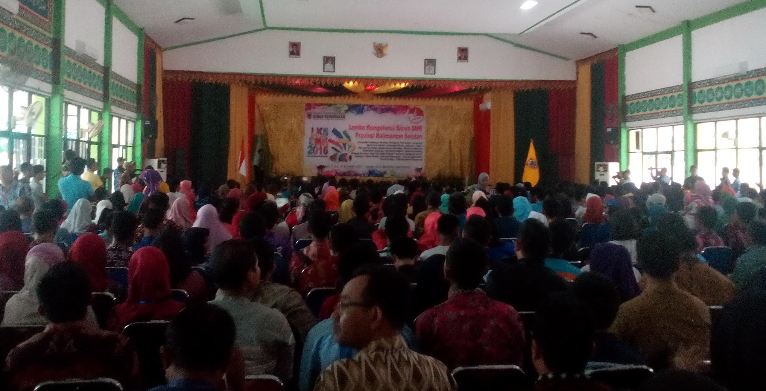 Lomba Kompetensi Siswa (LKS) 2016 di Banjarbaru