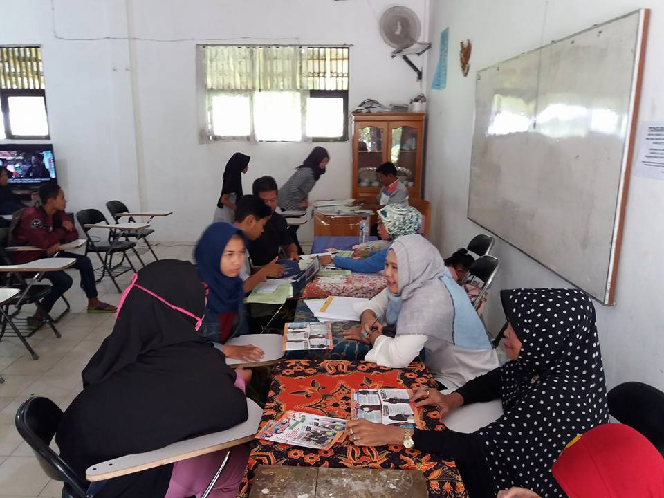 Suasana Penerimaan Peserta Didik Baru 2017 Di SMK Bina Banua Banjarmasin