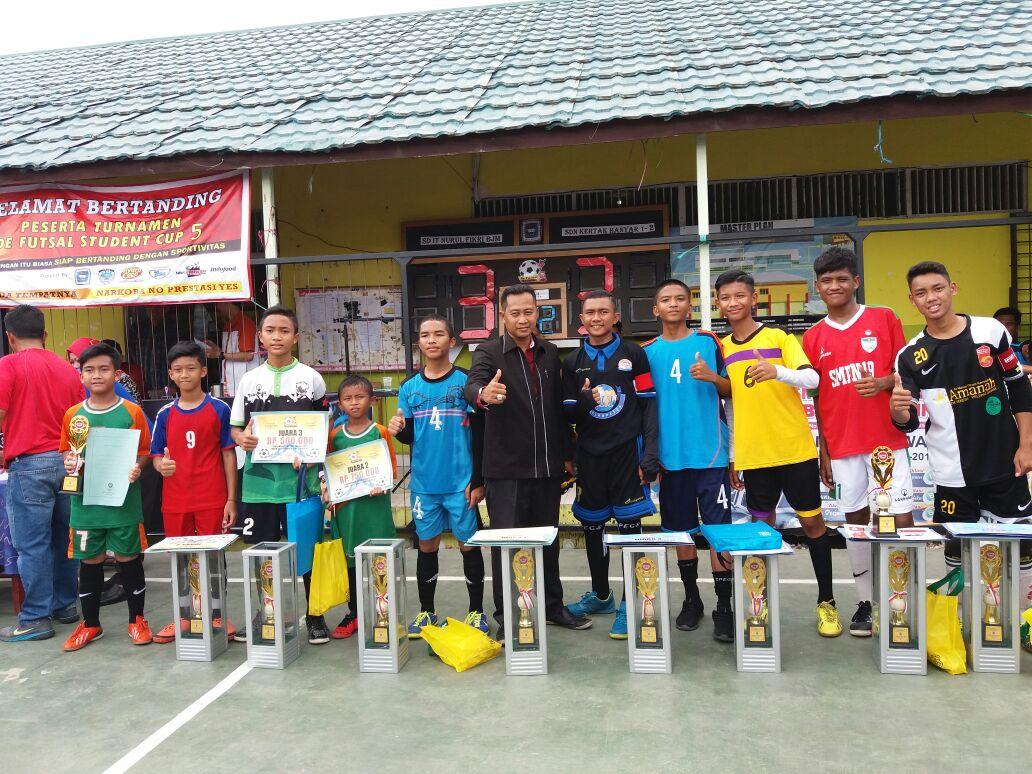 De Futsal Student Cup 5 SMK Bina Banua Banjarmasin