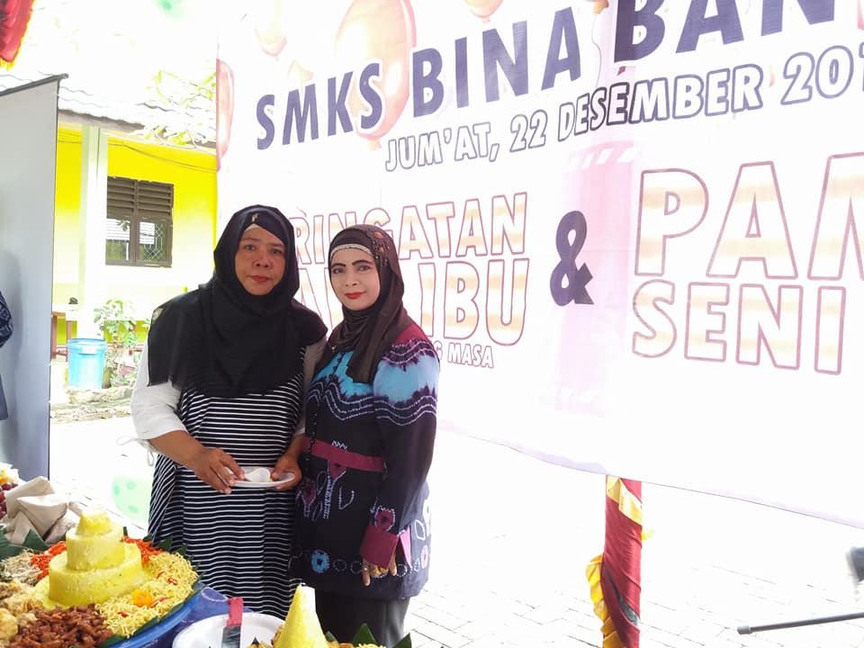Peringatan Hari Ibu Tahun 2017 di SMK Bina Banua Banjarmasin