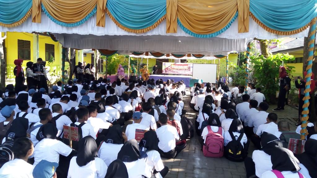 Pelaksanaan MPLS Tahun 2018 Di SMK Bina Banua Banjarmasin