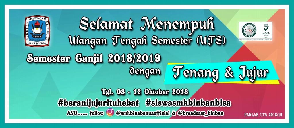 UTS Semester Ganjil 2018/2019