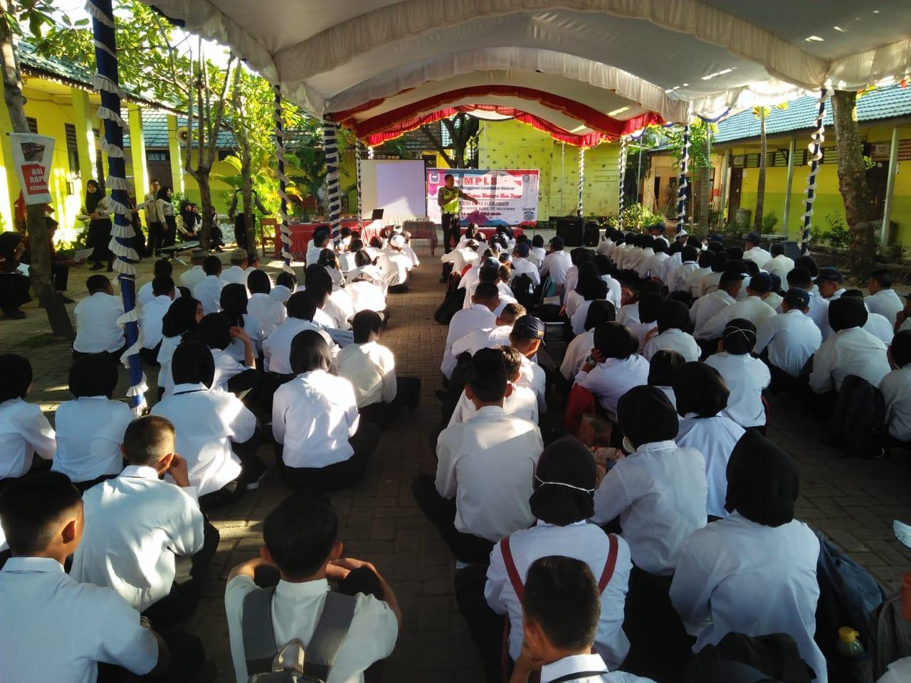 Pelaksanaan MPLS Tahun 2019 Di SMK Bina Banua Banjarmasin
