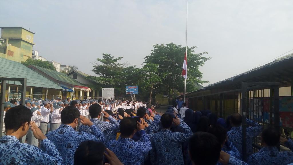 Peringatan Hari Kesaktian Pancasila Tahun 2019 Di SMK Bina Banua Banjarmasin