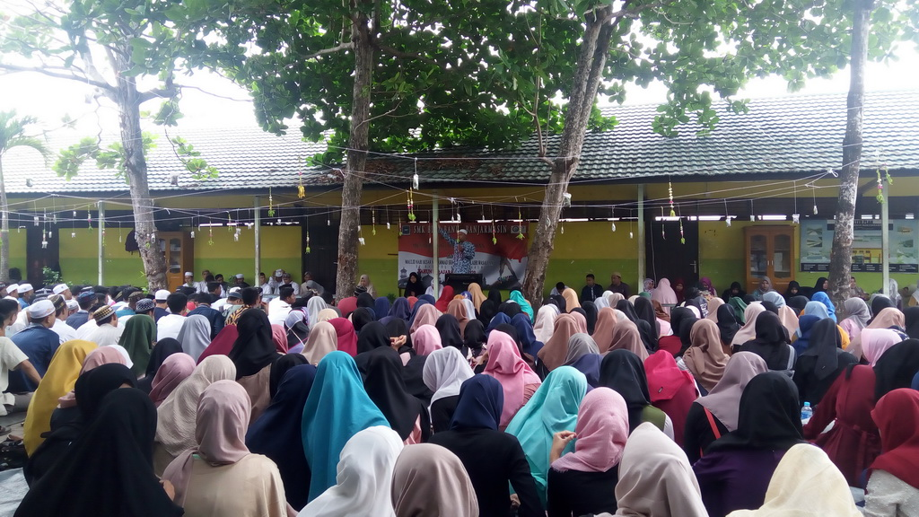 Peringatan Maulid Nabi Muhammad SAW 1441 H Di SMK Bina Banua Banjarmasin
