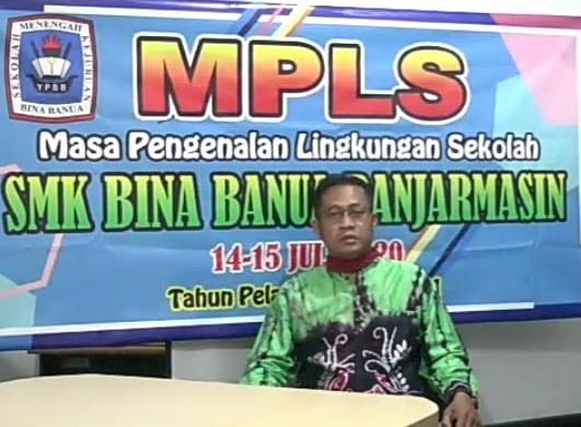 MPLS Online SMK Bina Banua Banjarmasin Tahun 2020