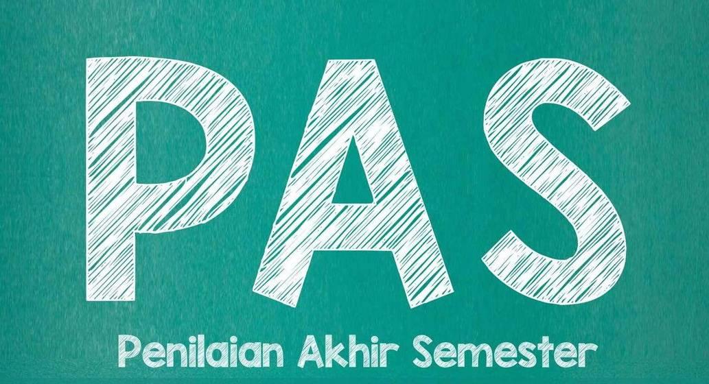Info Penilaian Akhir Semester Genap (PAS) Tapel 2020-2021