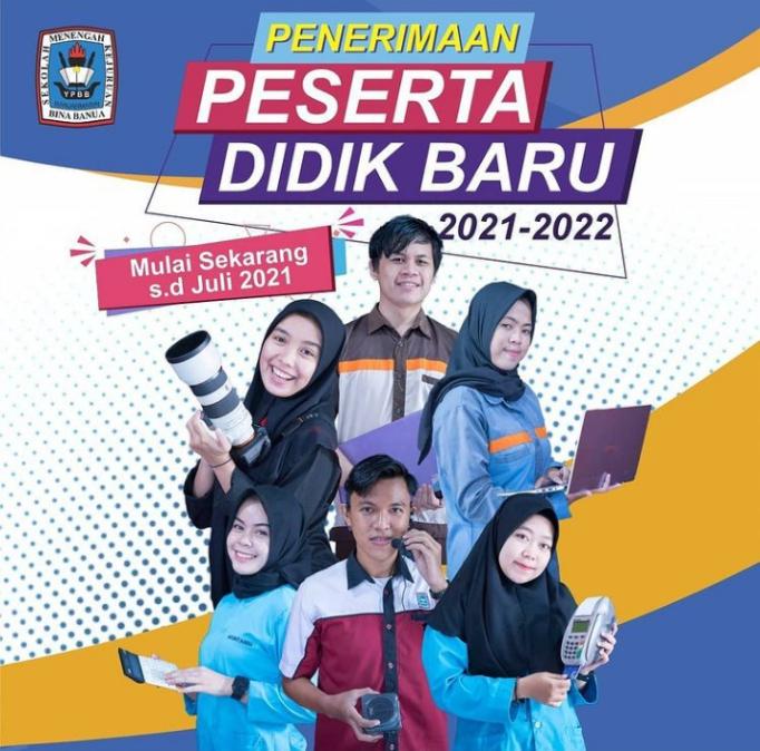 Pendaftaran Siswa Baru Tahun Pelajaran 2021-2022