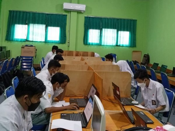 ANBK Tahun 2021 Di SMK Bina Banua Banjarmasin